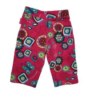 🍒3/$20🍒 PLACE Pink Butterfly Stretch Pants 6-9m